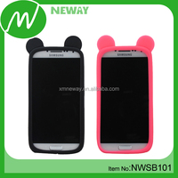 Ring Case Design Universal Silicone Phone Cover