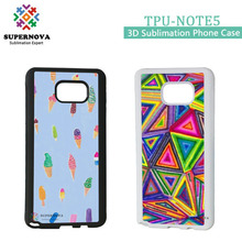 For Samsung Galaxy Note5 Custom Made Silicone Phone Cover