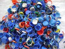 PLASTIC CAPS AND RINGS WASTE