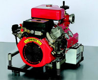 Portable diesel engine water pump