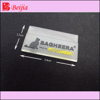 Soft PVC/rubber/silicone rubber tag label for Garment luggage suit case ,bag ,product type label