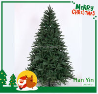 2015 new design hot sale custom made christmas trees