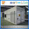 Soundproof big electric generator with container canopy