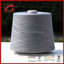 Top grade wool silk and hemp material blended yarn with 5%cashmere