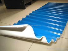 HoLu thermoplastic PVC sheet/corrugated sheet for roofs