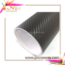 car sticker design 3D carbon fiber car wrap vinyl protective film in china