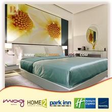 Vanilla Modern comfortable 3 star hotel bedroom design