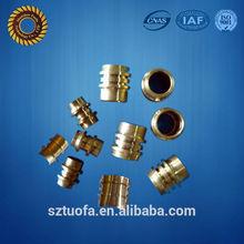Precisión CNC productos de cobre