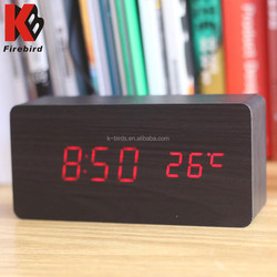 Best selling electical music related gift with temperature display