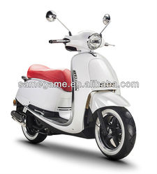50cc scooter/125cc moped/150cc gasonline 2013 newest gas scooter with best design,LED light,EEC & COC approval scooter 125T-D