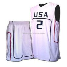 Design hot-sale custom number basketball men uniform