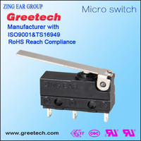 Switch for gas burner switch for electric recliner subminiature switches