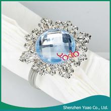 A granel del precio barato servilletero servilleteros mayor anillo para decoración de la boda
