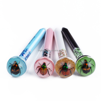 Custom Promotion Insect Ball Pen ballpoint pen with resin button