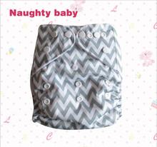 Naughty baby one size baby pocket cloth diaper Eco-friendly washable baby sleepy cloth diaper