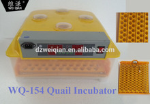 best selling quail egg incubator 154pcs quail hatching machine