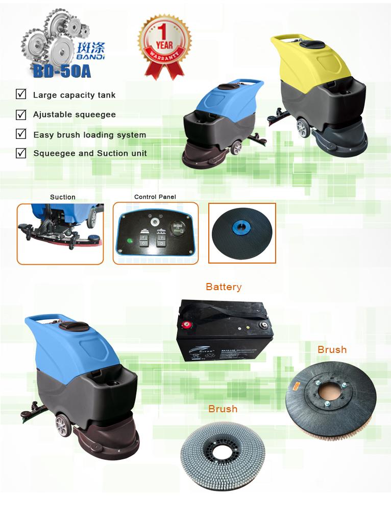 scruber machine