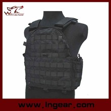 100% leather hunting vest Tactical vest Tactical Gear for Airsoft military use