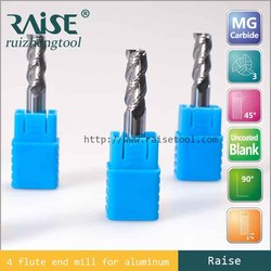 Manufacture high quality 4 flutes Germany solid carbide square regular end mill