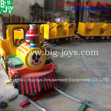 Popular exciting electrical amusement park ride track train for sale,