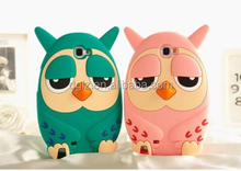 sale by bulk Soft 3D animal 3d owl birds silicone soft back case for iphone 4 4s 4g 5s 5g with free sample
