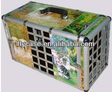 2014 aluminium pet case,pet carry case,pet house ,size 520*300*200MM
