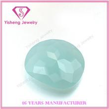 Jade milk color shining crystal glass turtle back lower price wuzhou manufacturer
