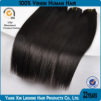 HOT!! 2014 Wholesale price double weft Korea glue high quality 10a 100% virgin Brazilian human hair for beauty salon