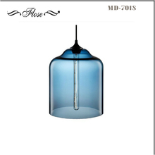 FLOSE MD-7018-1 stained glass lamp bases glass hanging lamp,murano glass chandelier