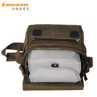 Besnfoto New design Big siz Canvas Messanger bag for camera and studio