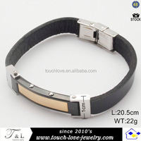 Fashion stainless steel lucky jewelry different types of paracord bracelets