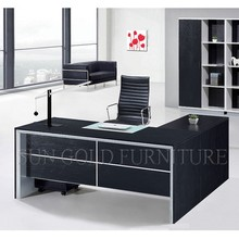 2015 Black office furniture Commercial factory designed office desk (SZ-OD360)