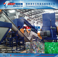 hot washing pet flakes machine/pet flakes recycling and washing machine
