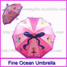 2015 hot fashion custom cheap drawing Kid umbrella, mini promotion advertising child umbrella, cheap custom printed umbrella
