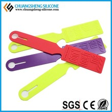 wholesale colorful red custom logo cheap silicone luggage tag for easy travel