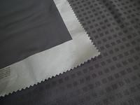 jacquard blackout thermal curtain fabric