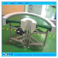 90 or 180-degree turning belt conveyor factory price high quality