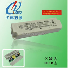 1250mA 50w constant current isolated led drivers with TUV certificate