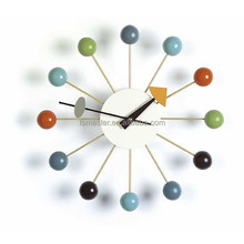 designer wall clock Mulit Coloured Ball Clcok wall clocks for bedroom