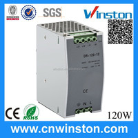 Hot selling Trade Assurance DR-120-12 Single output Din rail 120W 12V 10A power supply