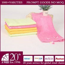 Sandy Healthful soft super absorbent bamboo fabric baby towels factory