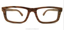 Zebra wood Sunglasses handmade eyewear CE&UV400