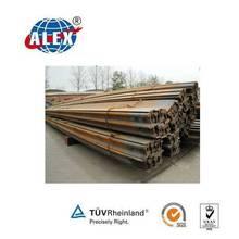 GB/BS/DIN/ASTM/AISI Standard Steel Rail, Heavy/ Light Steel Railway, ALEX Steel Railway