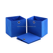 Foldable mesh storage box