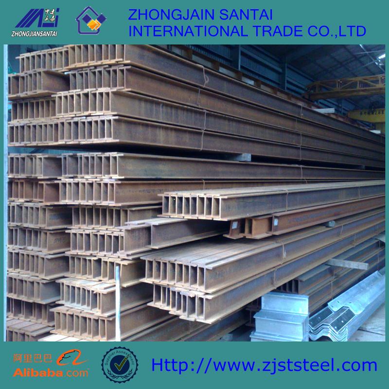 China precio bajo forma H estructura de acero columna viga, viga de ...