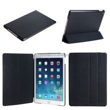 High quality with low price with 4 folds stand function wholesale leather case for ipad 4