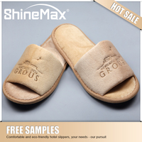 Kids Waffle Hotel Slippers Open toe Bath Slipper for Child