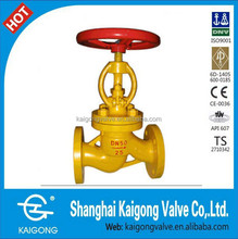 Liquefied natural gas globe valve