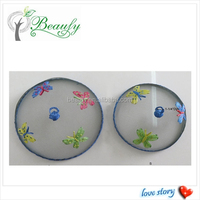 Kitchen Mesh Food Cover with Butterfly Embroidery