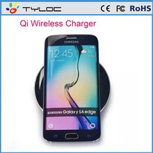 Hotsell lowest price qi wireless charger for samsung s6 edge